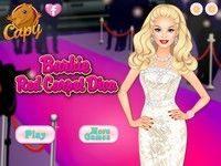 Игра Барби на красной ковровой дорожке
