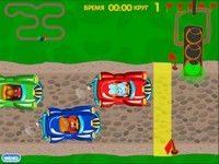 Игра Cмешарики: гонки