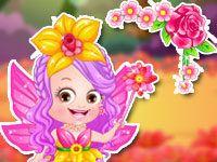 Малышка Хейзел фея цветов