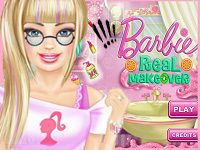 Игра Салон красоты Барби