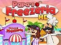Игра Папа Луи: мороженое и коктейли