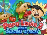 Игра Папа Луи 2: атака бургеров