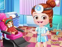 Малышка Хейзел стоматолог