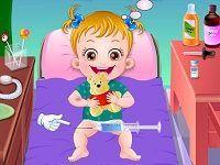 Малышка Хейзел в больнице