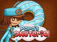 Игра Папа Луи: пончики
