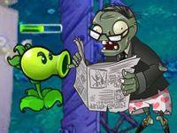 Игра зомби против: горошек атакует