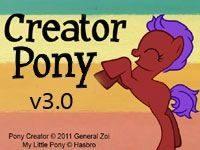 Игра креатор пони полная версия 3