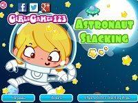 Игра Безделье Сары в космосе
