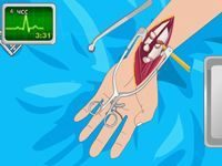 Игра Операция на руке