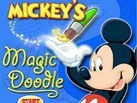 Игра Рисовалки оживлялки Микки Мауса