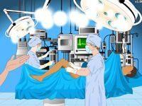Игра Операция на ноге