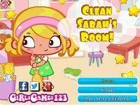 Уборка в доме Сары
