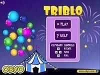 Трибло Тетрис: три шарика