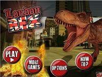 Игра «Динозавр Рекс в Лондоне»