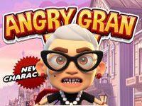 Игра «Злая бабушка бежит из психушки»