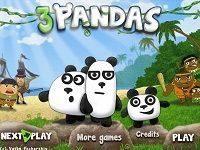 Игра «Три панды»