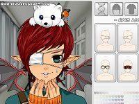 Игра креатор аниме «Мега аватар»