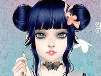 Игра аниме креатор «Готическая кукла»