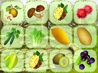 Игра Маджонг Фрукты и Овощи 4