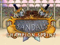 Игра Мечи и Сандалии 6 Спринт Чемпиона