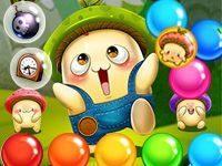 Игра «Приключения шарика с пузырями»