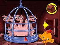 Игра Рассмеши обезьянку 9