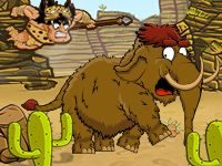 Игра Катапульта: Охота на мамонта