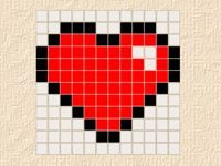 Игра Рисуем по пикселям