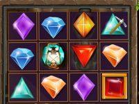 Игра три в ряд Алмазы
