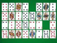 Пасьянс Коврик 52 карты