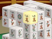 Игра Маджонг 3Д Кубики