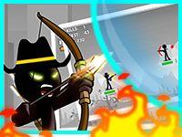 Игра Стикмен Лучник 2